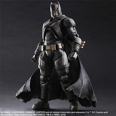 batman v superman dawn of justice play arts改 アーマードバットマン