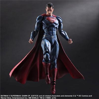 batman v superman dawn of justice play arts改 スーパーマン